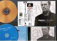 ERIC CLAPTON Chronicles JAPAN 24k GOLD CD+MAXI SET WPCR-10738~9 w/OBI+SLIP CASE