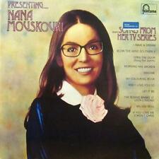 Nana Mouskouri(Vinyl LP)Presenting Nana Mouskouri Songs From Her T.V Series-Font