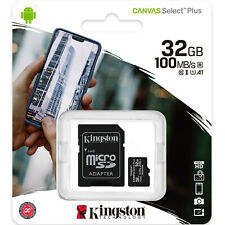 Kingston 32GB Micro SD SDHC MicroSD Tarjeta Memoria 32 G GB Canvas Select Plus