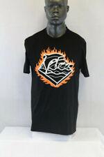 Pink Dolphin S/S Slow Burn T-Shirt Black/Multicolor Qs1811Sbbl
