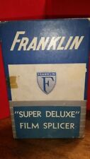 VTG Franklin Super Film Splicer for 8mm & 16mm Movie Camera w/ OB / Paperwork