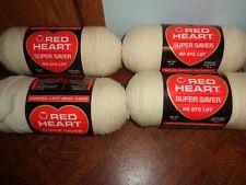 New Listing4 Skeins Red Heart Super Saver Yarn-Aran-100% Acrylic-8 Oz.