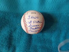 JAWS autographed National League Baseball signed by 1st victim