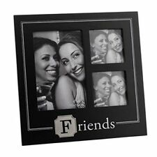 NEW VIEW Black FRIENDS 3 Apertures Photo Frame Gift NV297FR
