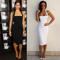 2016 Womens Ladies Summer Sexy Bodycon Pencil Cocktail Party Mini Dress UK