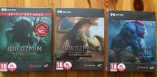 THE WITCHER TRILOGY 1 2 3 GAME OF THE YEAR STEELBOOK G2 PC DVD ENGLISH GOTY GOG