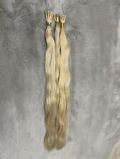 "55x Stick Tip Human Hair Extensions #22 Ash Blonde 19"" Long"