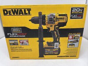 DeWalt DCD999T1 20V MAX BL Li-Ion 1/2 in. Hammer Drill Driver Kit (6 Ah) New