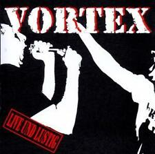 NEU & RAR: VORTEX Live Und Lustig CD 2003 MAD Oi! Punk Ska ROR REBELLION RECORDS