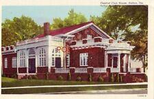 CENTRAL CLUB HOUSE, DALTON, GEORGIA erected in 1926