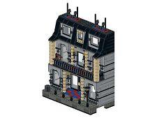 Lego - Bricksy's Modern Town - K02 - Haus I - schwarz&grau