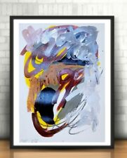EXPRESSIONIST ABSTRACT NEW GALLERY PAINTING FINE CONTEMPORARY BEDROOM ART DECOR