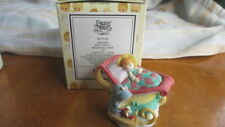 New Precious Moments By Enesco Junuary Mini Teapot Avon Exclusive