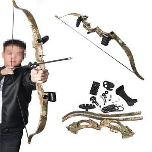 Archery Takedown Recurve Bow Fitness Hunting Practice Games Bow Shooting Target