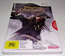 Pirates of the Caribbean At World's End Nintendo Wii PAL *Complete* Wii U