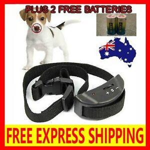 2020 AUTOMATIC ANTI BARK COLLAR STOP BARKING DOG TRAINING COLLAR EXPRESS POST..