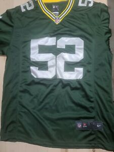 Clay Matthews #52 Green Bay Packers Nike 52 On Field Jersey Mens Size XL