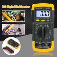 LCD Digital Multimeter Voltmeter AC/DC Ohmmeter Ammeter OHM Capacitance