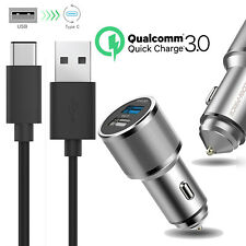 Rapid USB C Car Charger for Samsung Galaxy S8/S8 Plus/Note 8 Quick Charge 3.0 AU