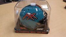 Memphis Maniax Authentic Bike Mini Football Helmet Xfl