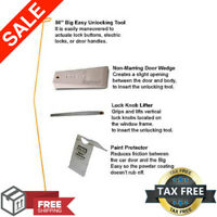 Bigeasy Glo Easy Wedge Kit Opening Lockout Access Tools Unlocking Car Door Steck