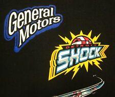 DETROIT SHOCK lrg T shirt WNBA basketball General Motors tee Michigan Jocks