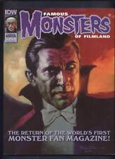 Famous monsters of Filmland magazine #251 the return Dracula cover Universal