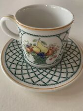 Villeroy & Boch Basket Pattern Cup And Saucer, Have Several Sets
