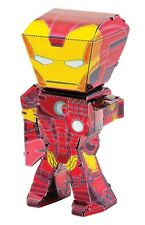 Fascinations Metal Earth Marvel Legends Iron Man 3D Laser Cut Steel Model Kit