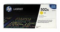HP Q6472A Yellow Toner Cartridge 502A Genuine New