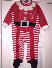 CHRISTMAS HO HO HO OUTFIT BABYGROW PLAYSUIT AGE 3-6 MONTHS 18lbs 8KG BNWT