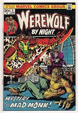 WEREWOLF BY NIGHT #3 NM- HIGH GRADE - ORIGIN DARKHOLD, Marvel Spotlight