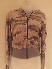 Cute MOSSIMO from Target Women's Velour Sport Jacket Camouflage Sz M