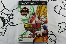 PLAY STATION 2 PS2 DRAGON BALL Z BUDOKAI TENKAICHI 3 COLLECTOR'S EDITION