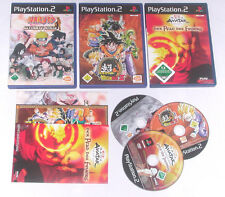 3 Spitzen KINDER Spiele für Playstation 2 z.B. NARUTO; AVATAR; DRAGONBALL