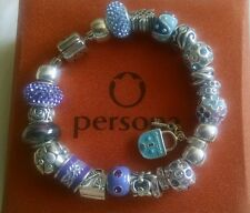 dd29e4514 Zales personna completed bracelet in sterling silver