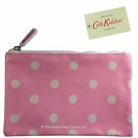 Cath Kidston - Zip Purse Oil Cloth Spot (sugar pink) *BNWT* *100% authentic*