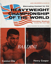 A3 Size Muhammad Ali vs Henry Cooper 1966 wall Home Poster Print Art #02