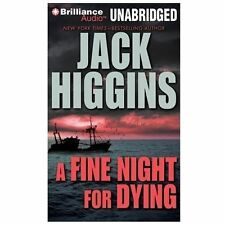 Jack Higgins A FINE NIGHT FOR DYING Unabridged MP3-CD *NEW* FAST 1st Class Ship!