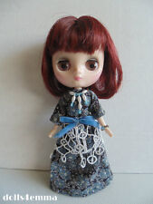 MIDDIE BLYTHE Custom Doll Clothes HANDMADE GOWN & JEWELRY vintage look  NO DOLL