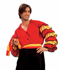 RUMBA MAN fancy dress SPANISH SALSA samba FLAMENCO 1/sz
