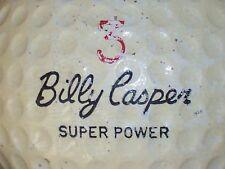 1966 BILLY CASPER SUPER POWER SIGNATURE LOGO GOLF BALL