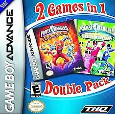 Power Rangers Double Pack: Ninja Storm & Time Force Nintendo Game Boy Advance