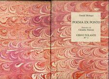 CERVO VOLANTE: Poema ex Ponto. Anno I, Numero 1, Gennaio 1981