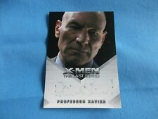 X-Men The Last Stand Autograph Card Patrick Stewart as Professor Xavier FADED