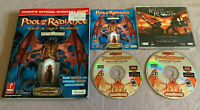 Pool of Radiance Ruins Myth Drannor PC Computer CD Video Game w/Strategy Guide!