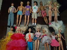 Vintage Barbies Skipper and Kens Lot and more 90's 2000's