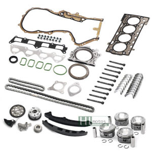 Engine Overhaul Set Rebuild Timing Kit Pistons Seals for VW Audi Skoda Seat 1.4T