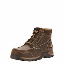 Ariat 10024953 Men Edge LTE Chukka H2O Comp Toe Dark Brown Work Boots