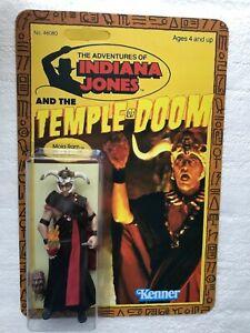 INDIANA JONES ACTION FIGURE MOLA RAM MOVIE SCENE HEART RENDERING FAN ART CARD
